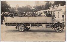Bournemouth; Royal Blue Charabanc No 4B Outside Hawkinsons Auction Mart, 1923
