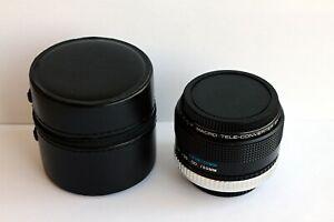Macro-Tele 2X Coverter (Soligor) für Canon FD. Bajonett – Kameras.