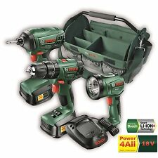 Bosch 18V Ultimate 3 Piece Cordless Kit includes 2 x 1.5Ah batteries and Charger