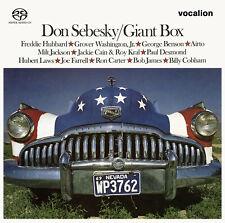 Don Sebesky - Giant Box [SACD Hybrid Multi-channel] - CDSML8557