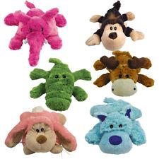 KONG COZIE Hunedspielzeug Spielzeuge Brights, Naturals, Alligator, Pastels. Moos