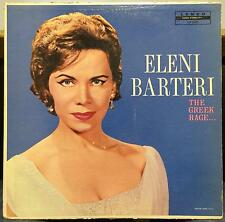 ELENI BARTERI greek favorites the greek rage LP VG+ Lenco LLP 1001 Mono RARE USA