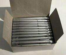 50 x Kugelschreiber Silber (Schwarze Tinte)