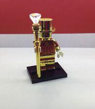 Lego Mr. Gold Custom Machine Chromed Limited Fits Lego UK STOCK CHEAP AUCTION