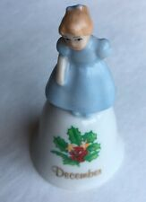 Miniature BELL RUSS BERRIE & CO. DECEMBER  MONTHLY Collection Vintage Mini
