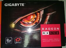 Tarjeta Grafica VGA GIGABYTE RADEON RX550 D5 2GB GDDR5