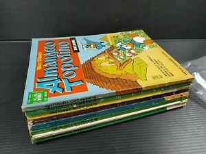 Walt Disney Almanacco Topolino 1966 8 numeri