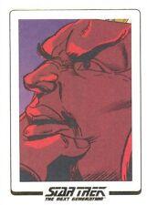 Star Trek The Next Generation Portfolio Prints 2 AC34 Comic Archive Cuts 90/128!