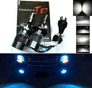 LED Kit G8 100W 9003 HB2 H4 10000K Blue Two Bulbs Head Light Dual High Low Beam