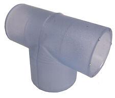 "Jetted Bathtub Pump Discharge Tee -  1 1/2"" Spigot x 1"" x 1""  PVC Slip"