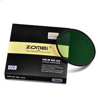 ZOMEI 82mm HD Slim Multi-Coated MCUV Filter lens Protector For Canon DSLR Camera