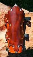 Leather Woodland Elf Bracers Armor SCA LARP Vembraces medieval fantasy Elven
