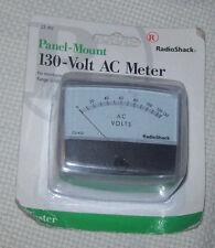 Radio Shack 22-412 0-130V Ac Panel Mount Meter