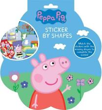 Peppa Pig Sticker Shapes Game Childrens Kids Travel Creative Art Gift