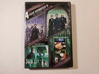 4 Film Favorite - The Matrix Collection DVD Reloaded, Revolutions, Animatrix