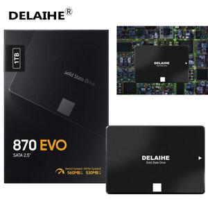 "DELAIHE 870 EVO 1TB SSD 2.5"" SATA III Internal Solid State Drive (MZ-77E1T0B/AM)"