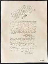 1926 - Lithographie Henry P. Davison, Mr Winslow Warren, Rév. William Manning