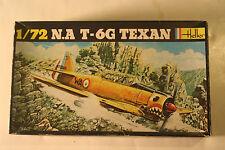 USA North American T-6 G Texan, 1/72 Heller kit No. 276 Model Airplane Kit