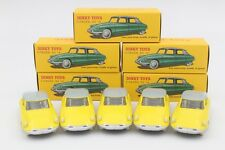Lot of 5 pcs 1:43 Atlas Dinky Toys 24CP 24C Citroen DS 19 Diecast Yellow