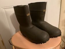 "Cabela's HUNTING SPORT Waterproof Thinsulate Steel Shank Boots sz15 13"" High EXC"
