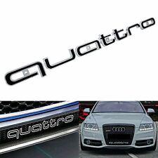Quattro Front Grill Badge Logo Emblem Fit Audi A1 A3 A4 A5 A6 A7 S3 S4 RS4 S5 Q7