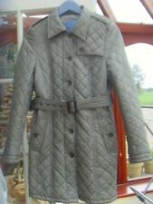 WOMEN'S DESIGNER FERAUD  WARM QUILTED  STYLE TRENCH COAT 10-12