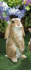 Cute Curious Standing Rabbit Bunny Outdoor Yard Art Garden Statue Sculpture