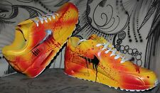 Custom Nike Air Max 90 Kill Bill Blood Style Sneaker Airbrush Graffiti