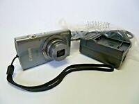 Canon Ixus 160 8x Zoom 20MP Silver HD Video Digital Camera #1