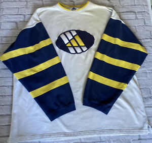 Vintage Adidas 1990's Sweatshirt Jumper SPELL OUT Mens Extra Large