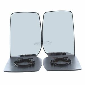 Ford Transit 2006-2014 Wing Door Mirror Upper Glass Pair Left & Right