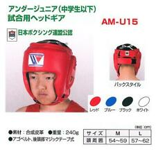 Authentic Winning Boxing Head gear Head guard Basic color from JAPAN AM-U15 NEW
