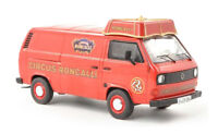 """#11411 - Premium ClassiXXs VW T3a Kasten mit Schirmdach """"Circus Roncalli"""" - 1:43"""
