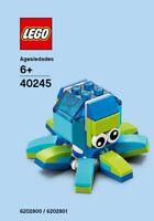 Lego Octopus Mensuel Construction 40245 Sac en Plastique Neuf Emballé