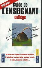 Guide de l'enseignant college.Pocket Junior Z007