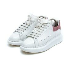 ALEXANDER McQUEEN Leather Sneakers White / Pink