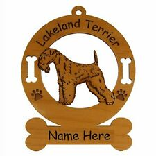Lakeland Terrier Standing Dog Ornament Personalized With Your Dogs Name 3494