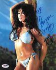 Chyna Signed WWE 8x10 Photo PSA/DNA COA DX Diva Playboy Wrestling Picture Auto I
