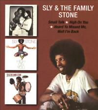 SLY & THE FAMILY STONE - SMALL TALK/HIGH ON YOU/HEARD YA MISSED ME, WELL I'M BAC