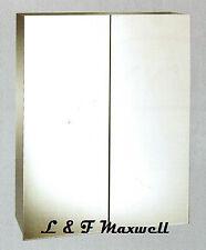 Stainless Steel Mirror Shaving / Medicine Cabinet 450mm