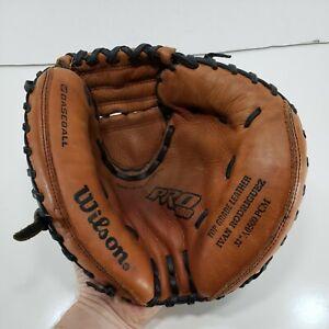 "Wilson PRO 500 32"" Catchers Mitt A0500 PCM Baseball Glove RHT Ivan Rodriguez"