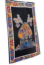 Psychedelic Mushroom Tapestry Bohemian   Hippie Tapestries Wall Hanging Decor
