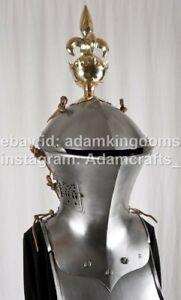 Medieval  2mm Steel Knight Tournament Jousting Helmet