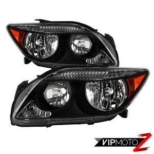 [Factory Style] 2005-2007 Scion tC RS Chrome Headlight Lamp Replacement Pair L+R