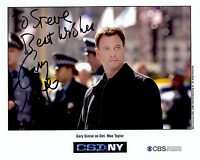 GARY SINISE Hand Signed Photo 8 x 10 Color Authentic Autograph To Steve