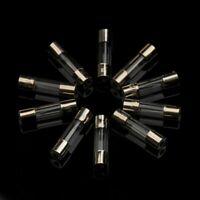 1 - 2 - 5 - 10 ou 20 Fusible Verre 5x20mm Rapide 250V 0,1A - 30A Fast fusible