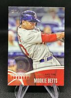 2014 Topps MOOKIE BETTS Rookie 🔥 Future is Now 🔥 Red Sox Los Angeles Dodgers