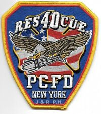 """Port Chester  Rescue - 40, New York  (4"""" x 4.5"""" size) fire patch"""