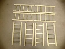4 sets of AMF murry pedal car wood ladders for 508 fire truck &other brands