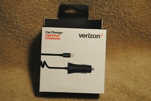 New Verizon iPhone iIPad iPod Car Charger Lightning connector VPC24LGHT-M1